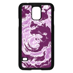 Abstract art Samsung Galaxy S5 Case (Black)