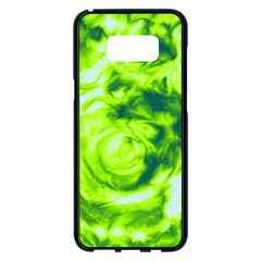 Abstract Art Samsung Galaxy S8 Plus Black Seamless Case