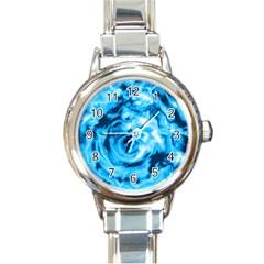 Abstract art Round Italian Charm Watch