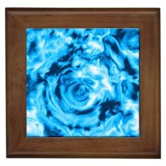 Abstract art Framed Tiles