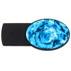 Abstract art USB Flash Drive Oval (4 GB)
