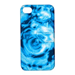 Abstract art Apple iPhone 4/4S Hardshell Case with Stand