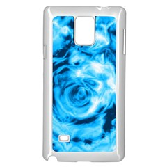Abstract art Samsung Galaxy Note 4 Case (White)