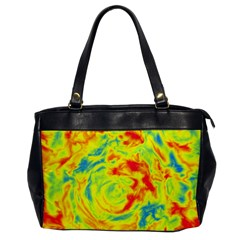 Abstract art Office Handbags