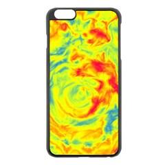 Abstract art Apple iPhone 6 Plus/6S Plus Black Enamel Case
