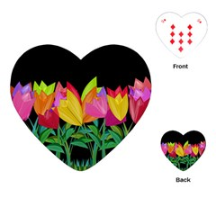 Tulips Playing Cards (Heart)