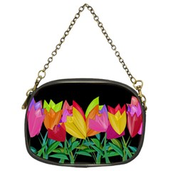 Tulips Chain Purses (Two Sides)