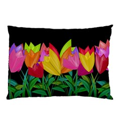 Tulips Pillow Case (Two Sides)