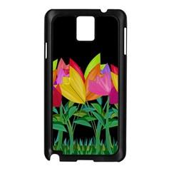 Tulips Samsung Galaxy Note 3 N9005 Case (Black)