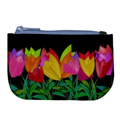 Tulips Large Coin Purse