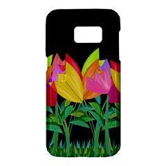 Tulips Samsung Galaxy S7 Hardshell Case