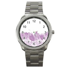 Tulips Sport Metal Watch
