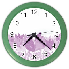 Tulips Color Wall Clocks