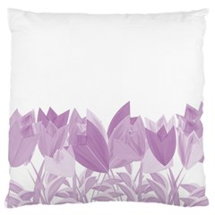 Tulips Standard Flano Cushion Case (Two Sides)