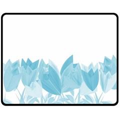 Tulips Fleece Blanket (Medium)