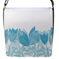Tulips Flap Messenger Bag (S)