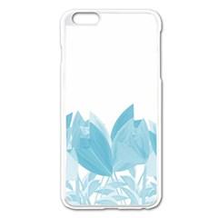 Tulips Apple iPhone 6 Plus/6S Plus Enamel White Case