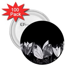Tulips 2.25  Buttons (100 pack)
