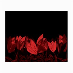 Tulips Small Glasses Cloth (2-Side)
