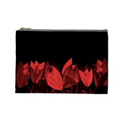 Tulips Cosmetic Bag (Large)
