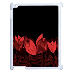 Tulips Apple Ipad 2 Case (white)