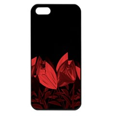 Tulips Apple iPhone 5 Seamless Case (Black)