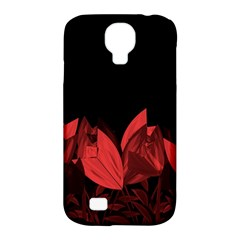 Tulips Samsung Galaxy S4 Classic Hardshell Case (PC+Silicone)