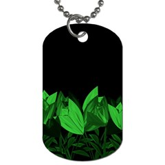 Tulips Dog Tag (Two Sides)