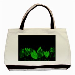 Tulips Basic Tote Bag (Two Sides)
