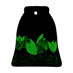Tulips Bell Ornament (Two Sides)