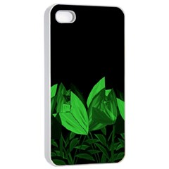 Tulips Apple iPhone 4/4s Seamless Case (White)