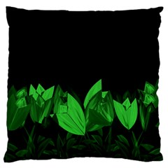 Tulips Standard Flano Cushion Case (One Side)