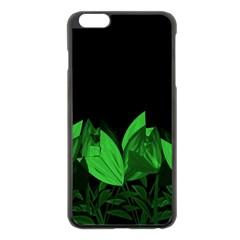 Tulips Apple iPhone 6 Plus/6S Plus Black Enamel Case