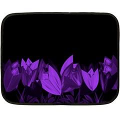 Tulips Fleece Blanket (Mini)