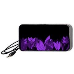 Tulips Portable Speaker (Black)