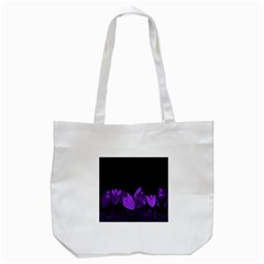 Tulips Tote Bag (White)