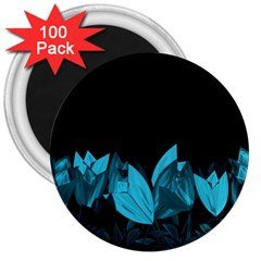 Tulips 3  Magnets (100 pack)
