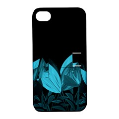 Tulips Apple iPhone 4/4S Hardshell Case with Stand