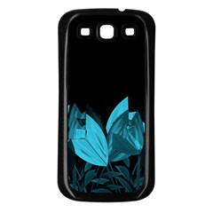 Tulips Samsung Galaxy S3 Back Case (Black)