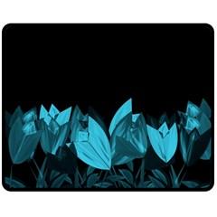 Tulips Double Sided Fleece Blanket (Medium)