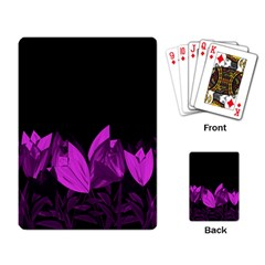 Tulips Playing Card