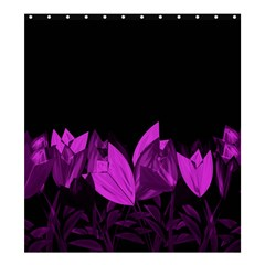 Tulips Shower Curtain 66  x 72  (Large)