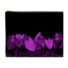 Tulips Cosmetic Bag (XL)