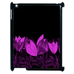 Tulips Apple iPad 2 Case (Black)
