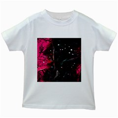 Abstract design Kids White T-Shirts