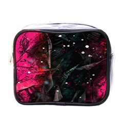 Abstract design Mini Toiletries Bags