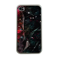 Abstract design Apple iPhone 4 Case (Clear)