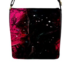 Abstract design Flap Messenger Bag (L)