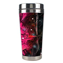 Abstract Design Stainless Steel Travel Tumblers
