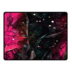 Abstract design Double Sided Fleece Blanket (Small)